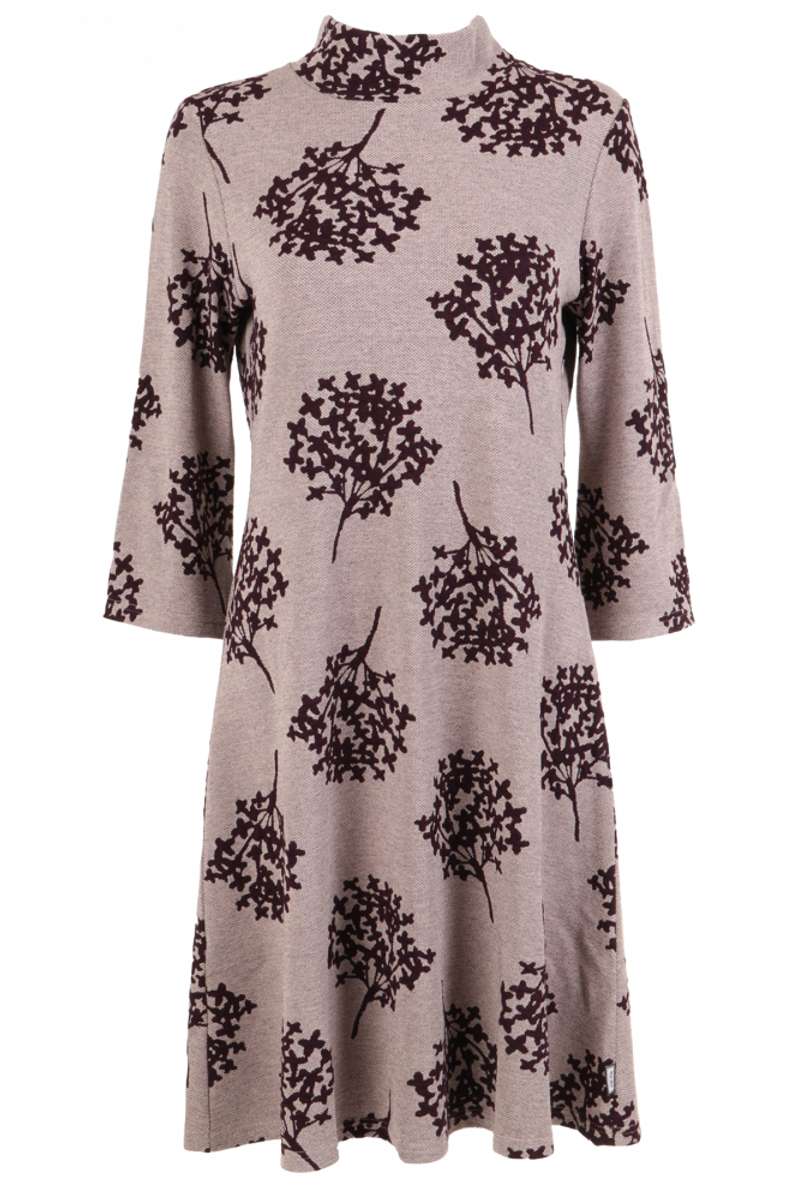 Oleanna Rosa bordeaux kjole