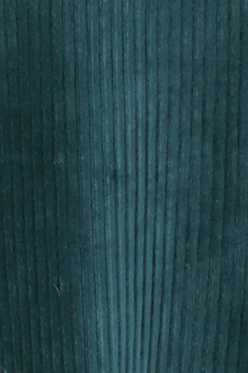 Kjerstin flaskegrønn hettekjole