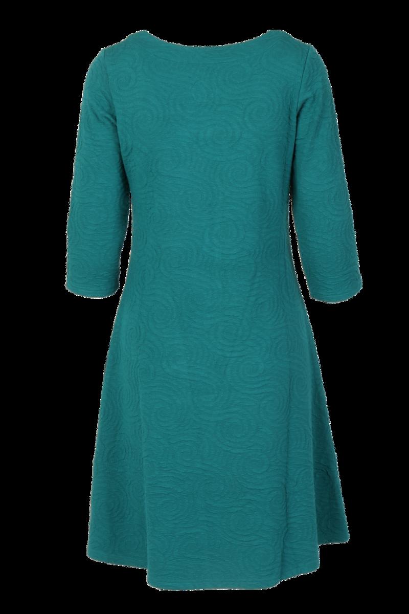 Vibeke Sjøgrønn kjole