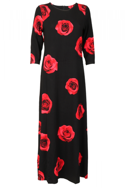 Bilde av Rød rose Kjole D59