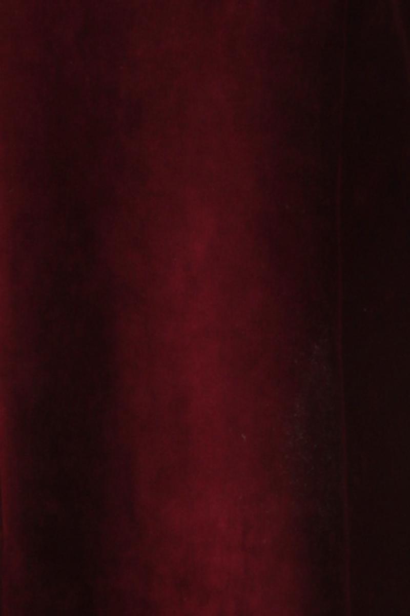 Milla kjole babycord bourdeaux