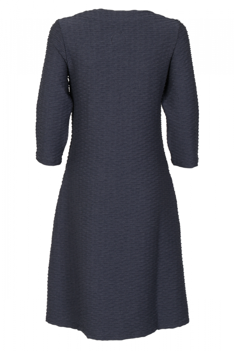 Paula rustikblå kjole