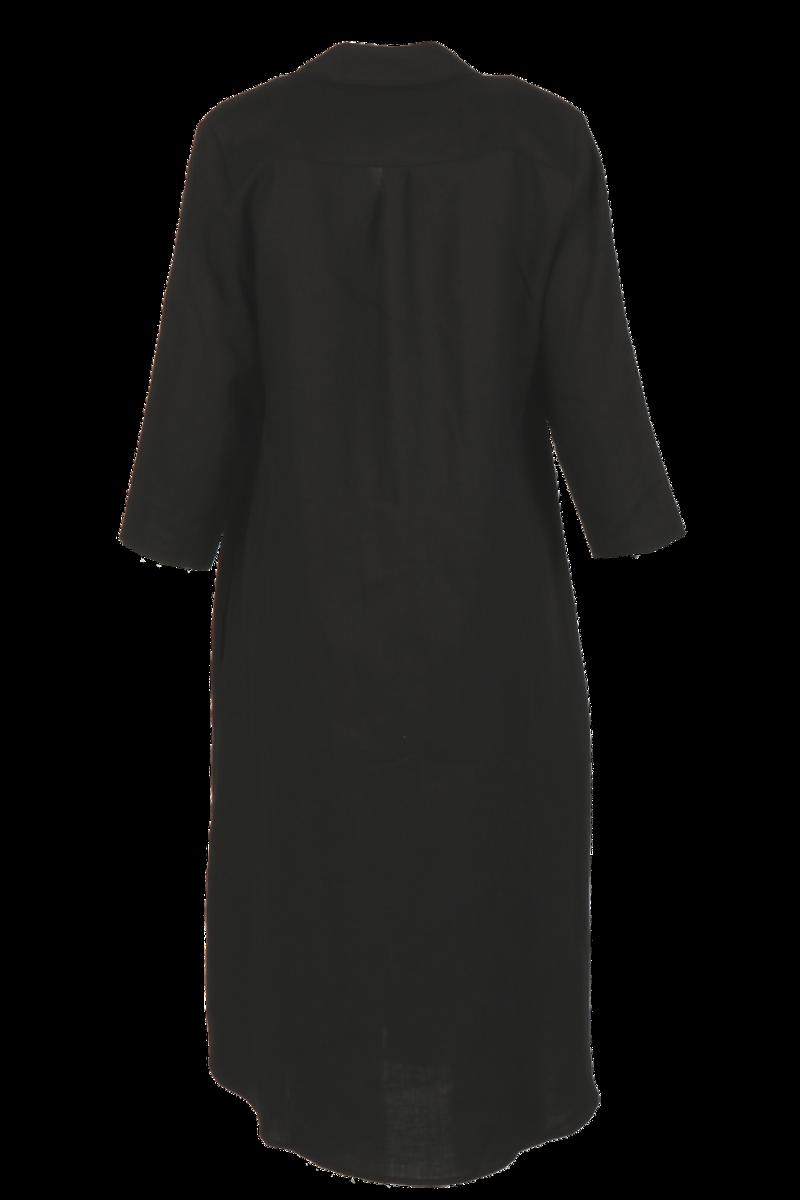 Cecillia sort linkjole/skjorte