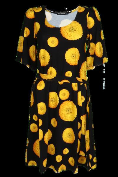 Bilde av Dahlia D54 Gul kjole