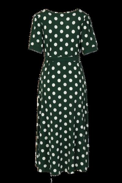 Bilde av Maggie grøn og hvit midilang