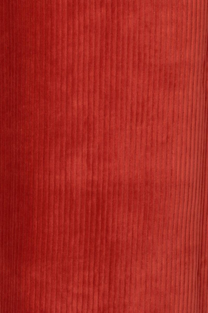 Malla rust oransje velur midikjole