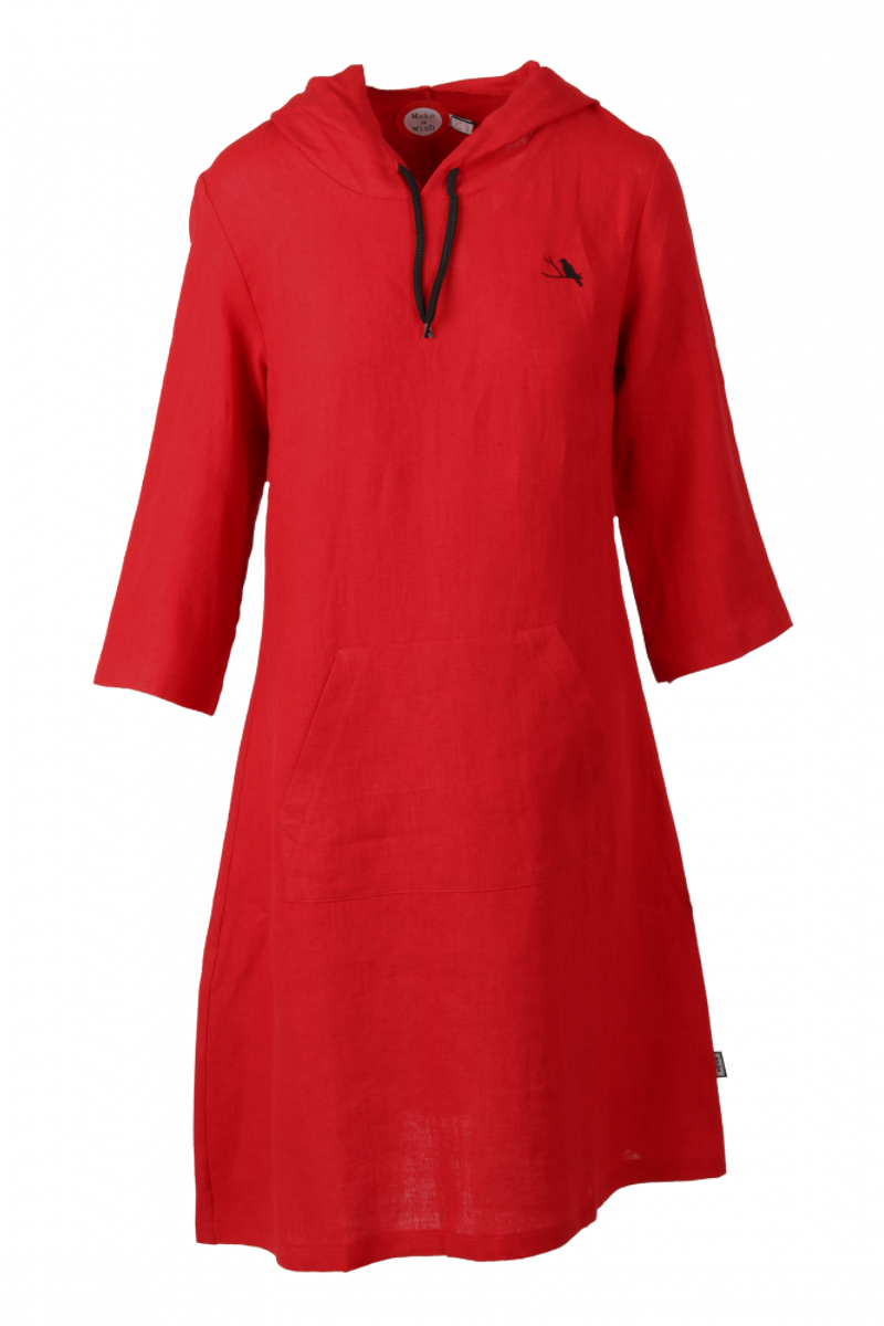 Ragna Sporty rød linkjole