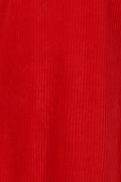 Bilde av Pamela rød velurkjole