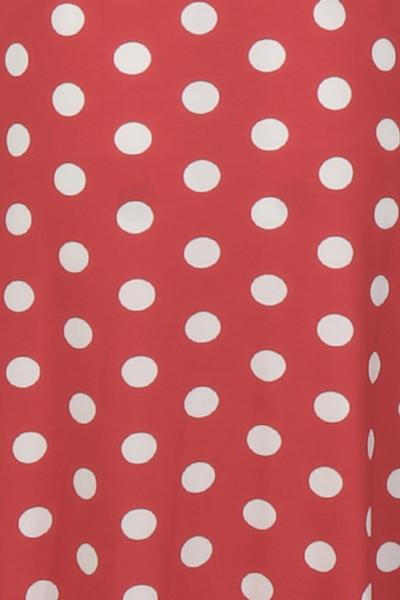 Bilde av Maggie rød og hvit midilang