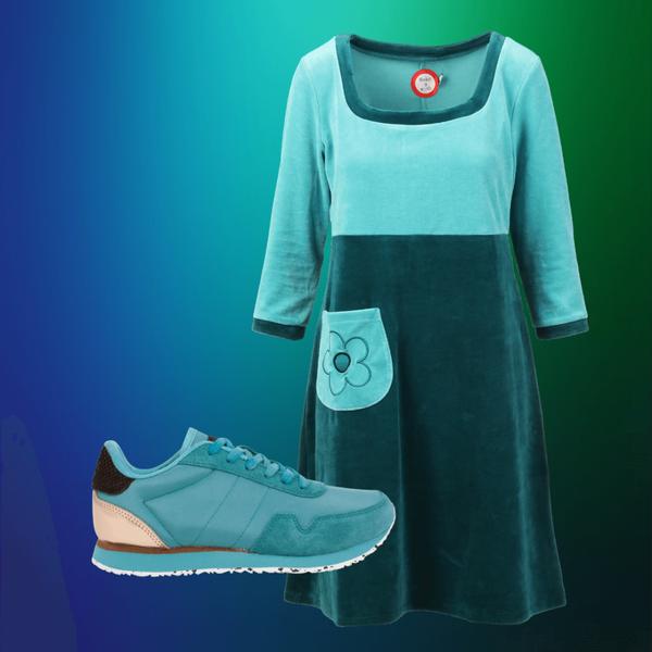 Bilde av Vilja turquoise shop the look