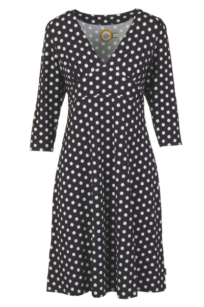Bilde av Eirin blå polkadot kjole