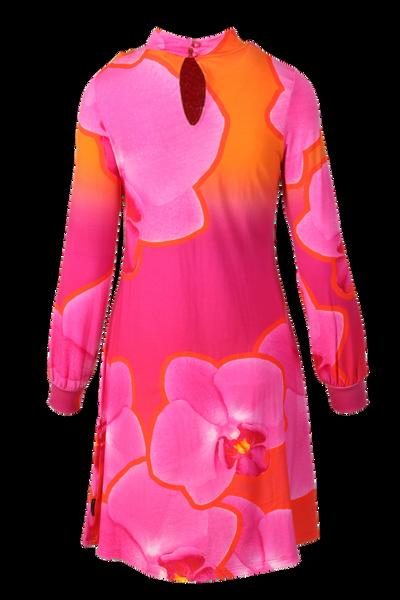 Bilde av Rosa orkide Kjole D27