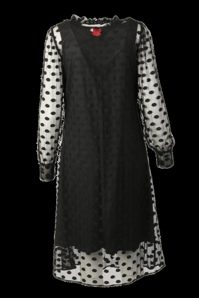Maud sort kjole