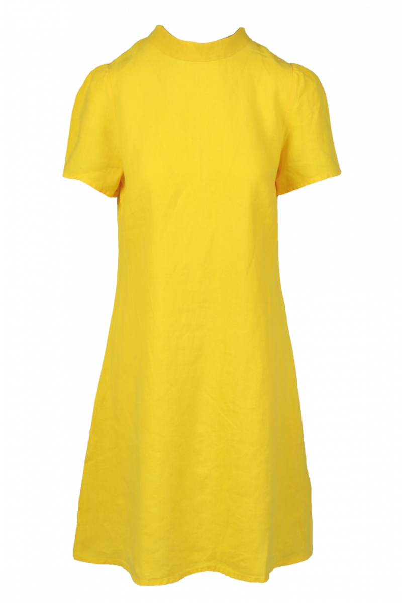 Ulrikke gul linkjole