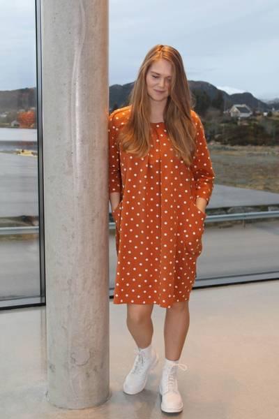 Bilde av Laurine rustik oransje tunica