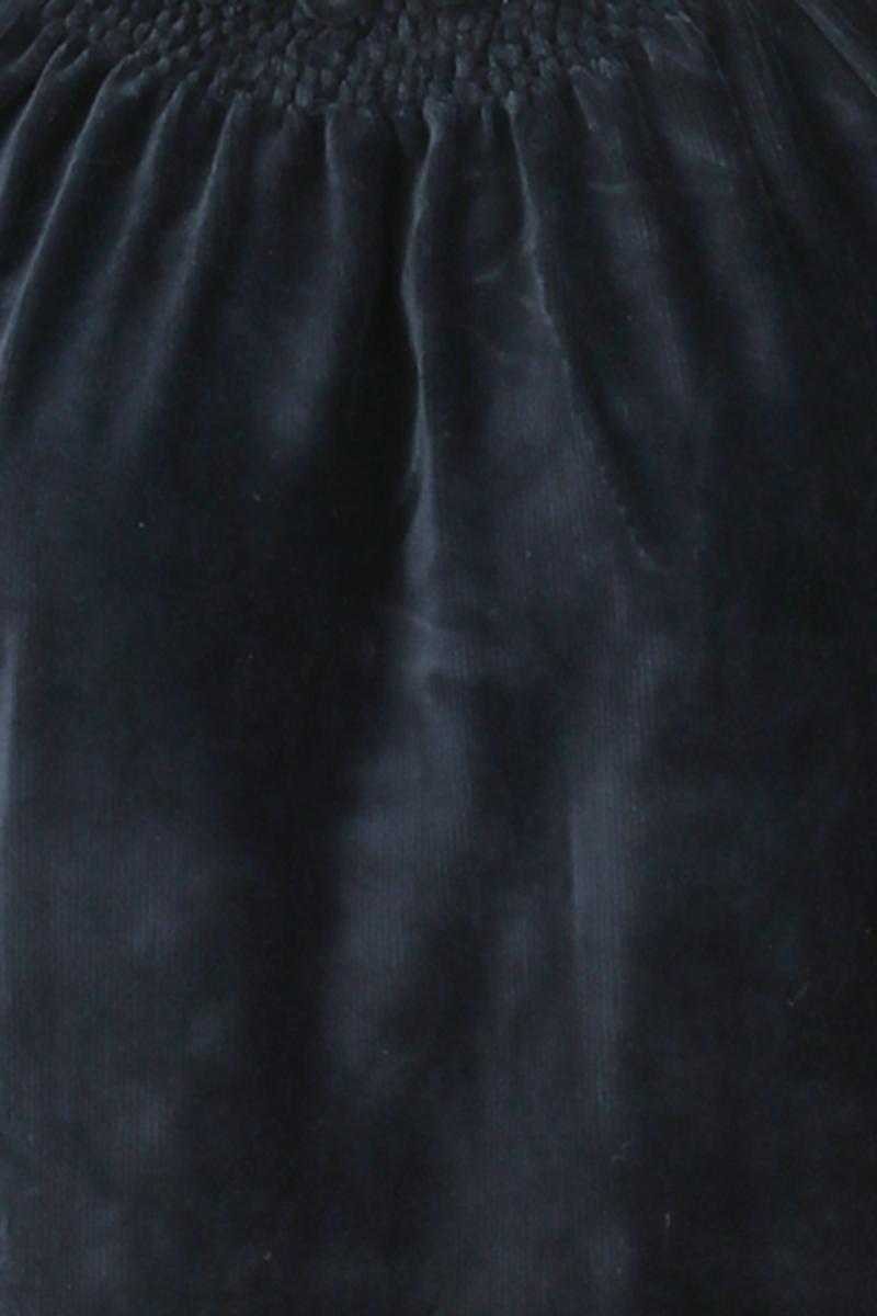 Britt kjole babycord blå