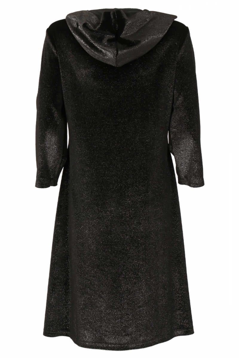 Janka svart kjole med glitter