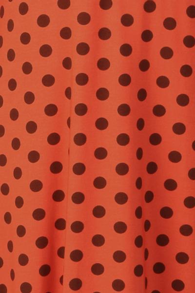 Bilde av Eirin oransje brun polkadot