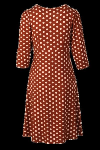 Bilde av Eirin brun beige polkadot