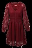 Bilde av Vivvi bordeaux kjole