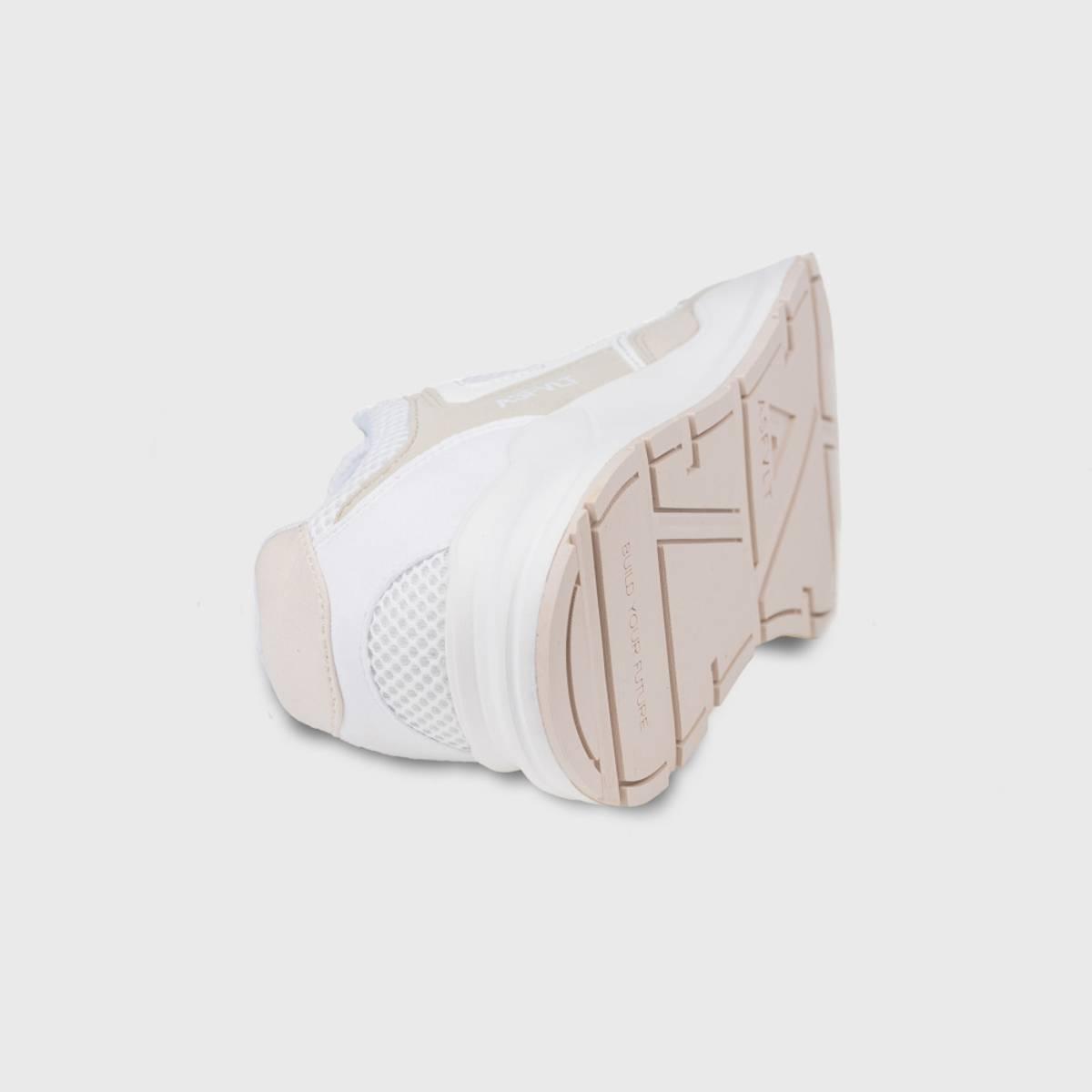 ASFVLT sneakers Concrete white sand