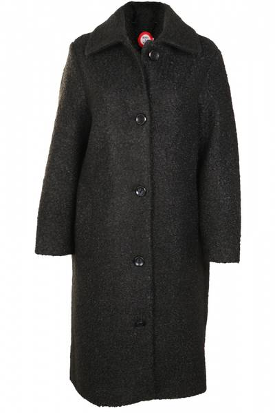 Image of Black loosefit coat Lise from