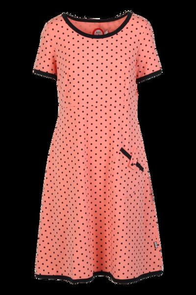 Image of Fia Peach and blue dress