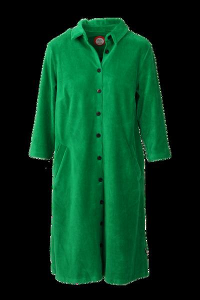 Image of Silje green shirt dress