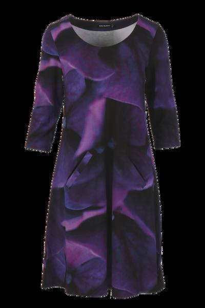 Image of Hortensia dress purple D67