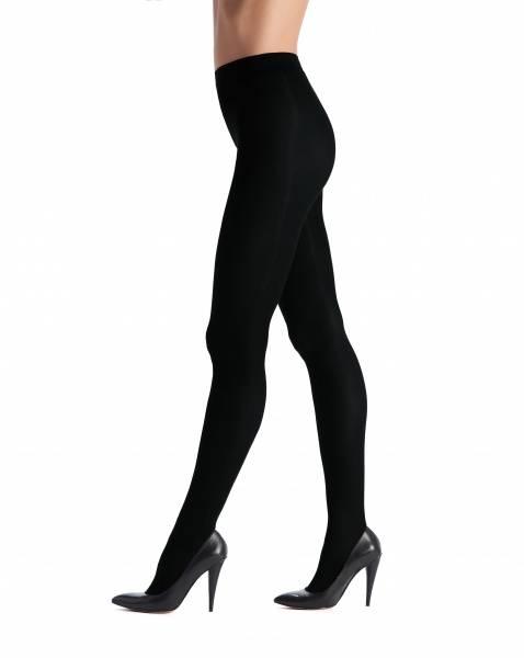 Image of Oroblu black satin tights 60
