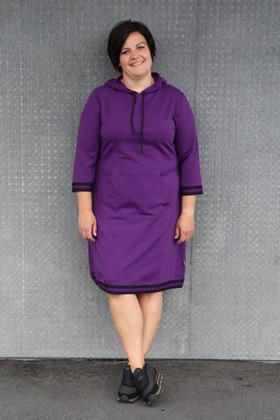 Image of Dagny Sporty  purple dress