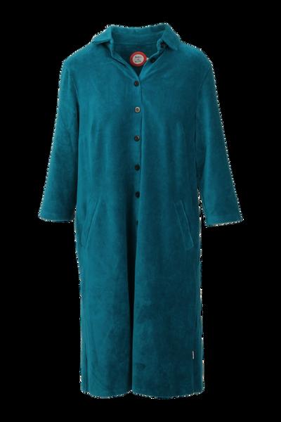 Image of Silje petrol shirt dress