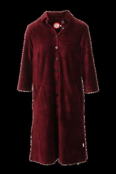 Image of Silje bordeaux shirt dress