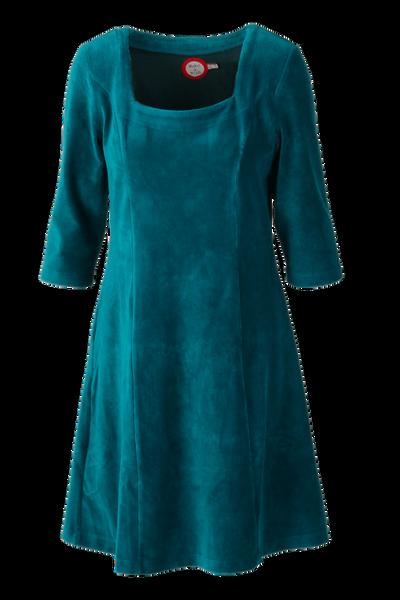 Image of Milla dress babycord petrol