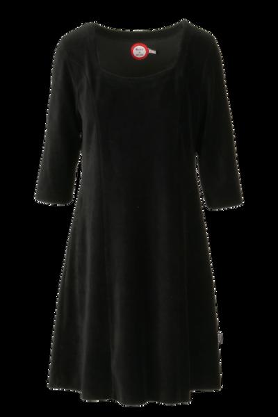 Image of Milla dress babycord black