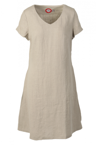 Image of Hannalena nature linnen dress