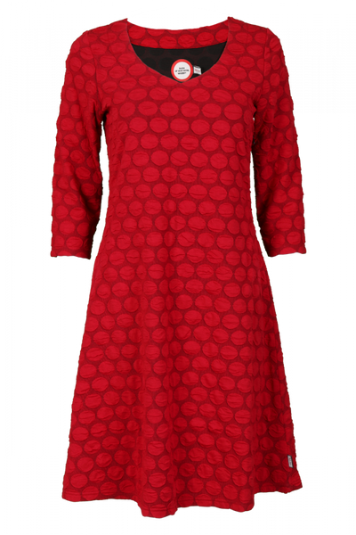 Image of Solveig red dress