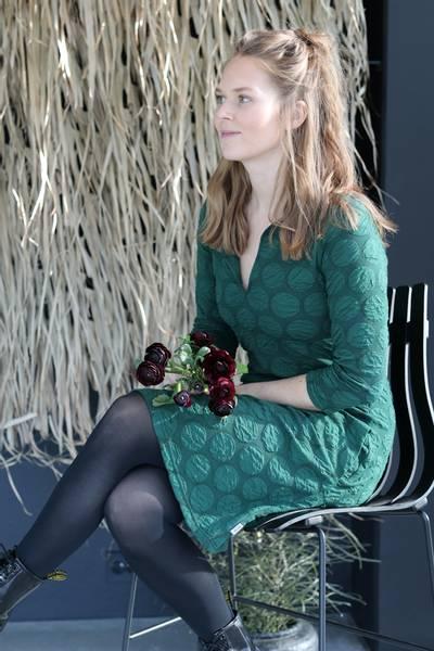 Image of Tanja Junglegreen dress