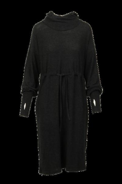 Image of Miriam soft hoodiedress black