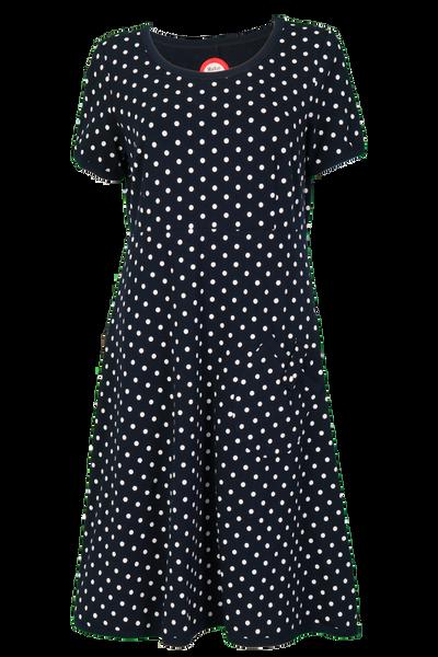 Image of Fia Blue and white dress