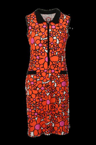 Image of Harper orange summer dress