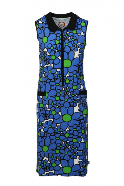 Image of Harper blue summer dress