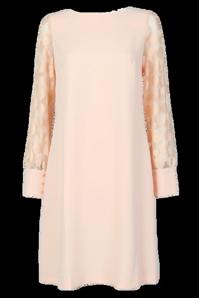 Image of Stina nude pink dress