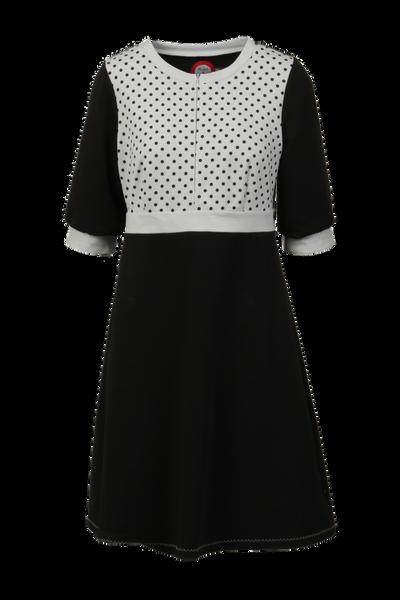 Image of Marita black and grey dress
