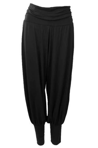 Image of Molly Black baggy pants from