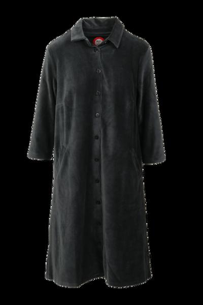 Image of Silje grey shirt dress