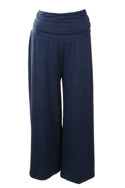 Image of Blue high water wide leg
