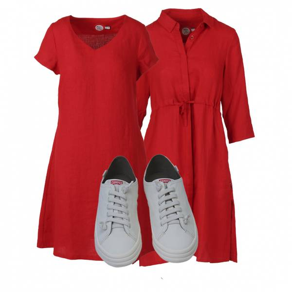 Image of OUTFIT Hannalena red + Camper
