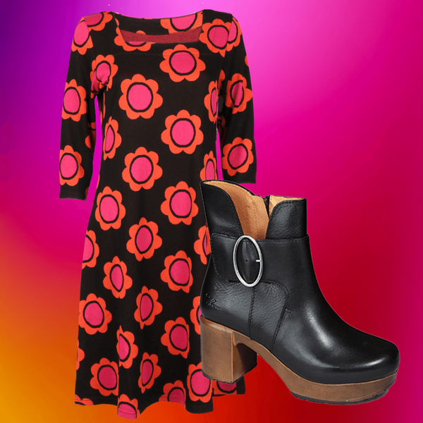 Image of Liva orange shop the look