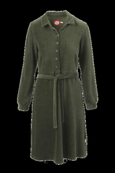 Image of Tara cumbo green velvet dress